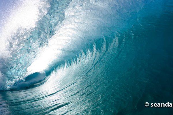 Waves at Pupukea Sandbar, north shore, Oahu, 01.18.06