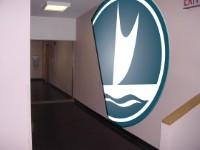 TIM School/ Sailboat logo