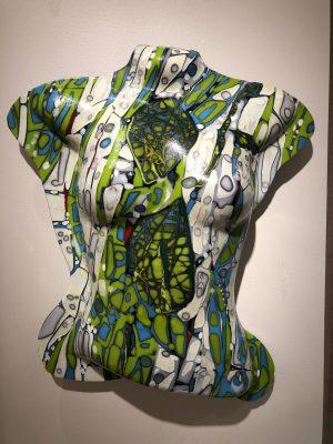 Maree VS - Green Glass Sculpture