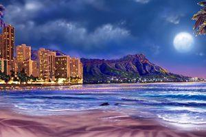 SS-Waikiki shoreline
