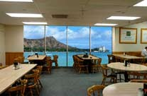 Sheraton Waikiki/ Moana Surfrider, a Westin Resort & Spa employee cafeteria