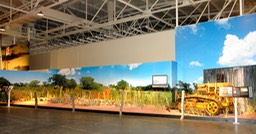 Large Format Mural for the Battle of Niihau Exhibit